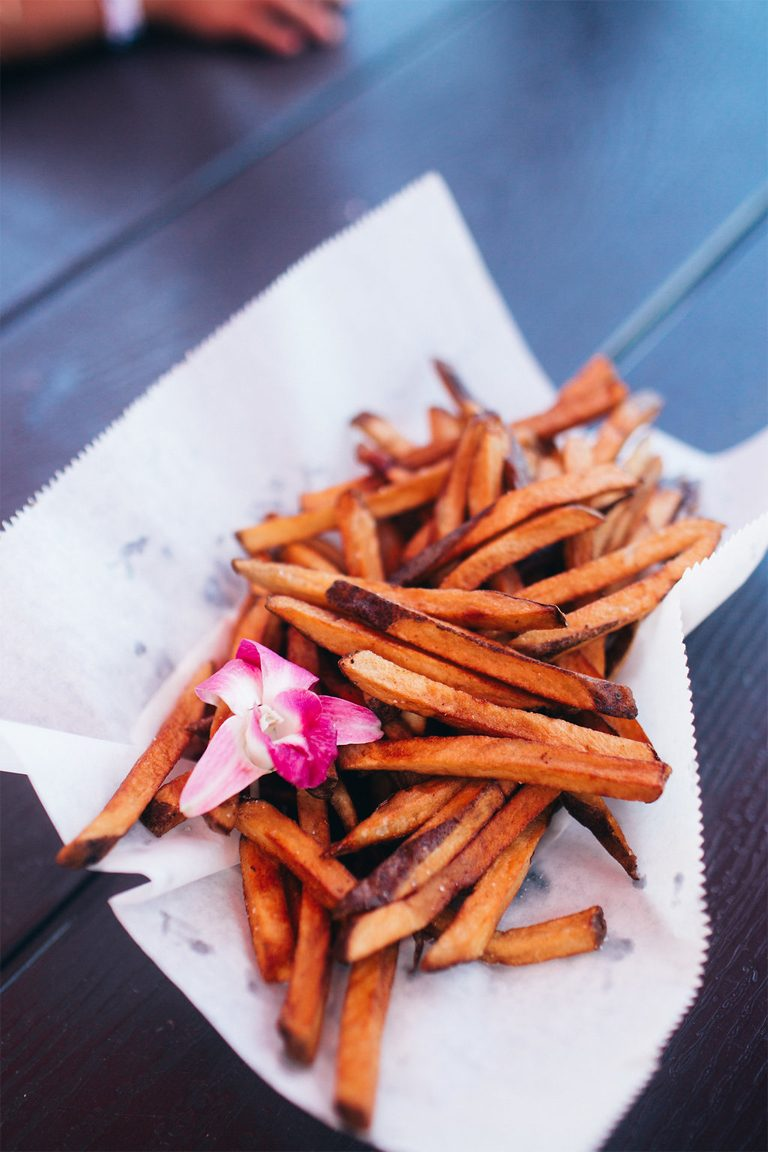 Tasty Sweet Potato fries.