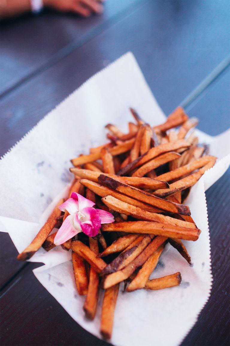 Tasty Sweet Potato fries.